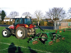 Ransome 7 Head Cylinder Mower